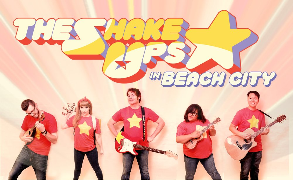The Shake Ups In Beach City Promo Picture with Logo.jpg