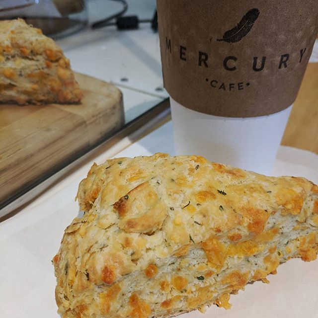 Need a pre-lunch break from the office? We've got coffee and freshly baked scones (they're still warm!!)