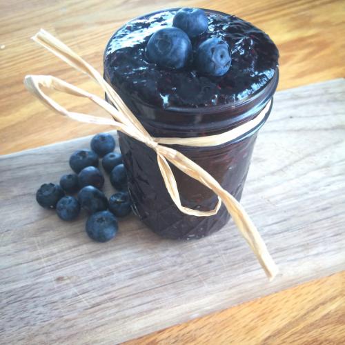 Blueberry Vanilla Chia Jam