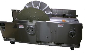 Mallet Model Pan Feed and Turnover Unit