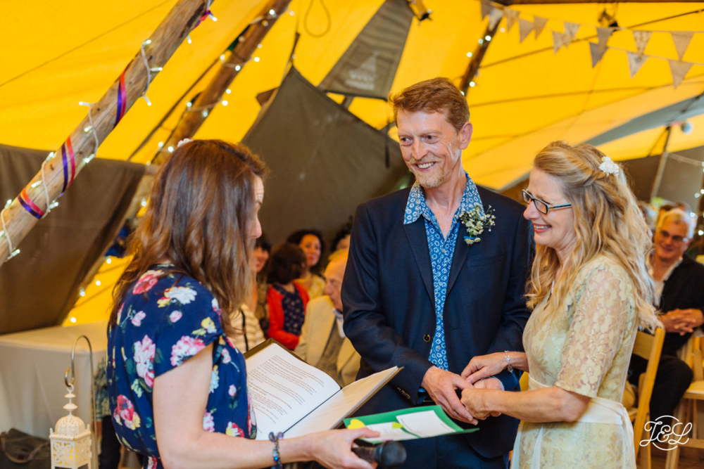 Tipi Wedding Ceremony - My Perfect Ceremony - Testimonial Ali & Geoff