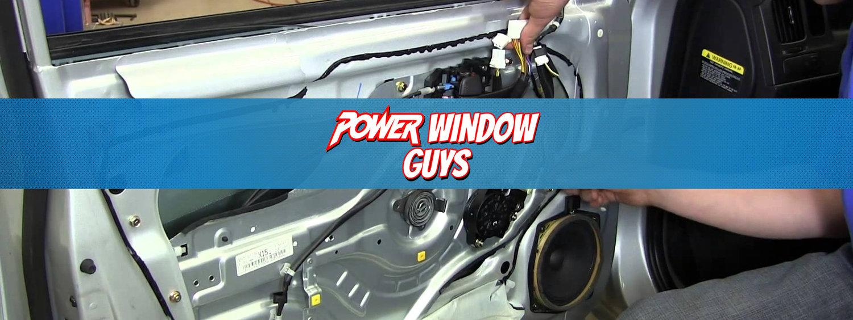 Mobile Power Window Repair