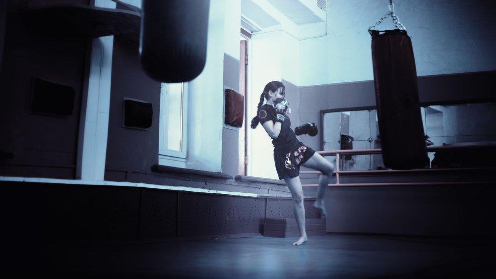 kickboxer girl kaitlyn stephens