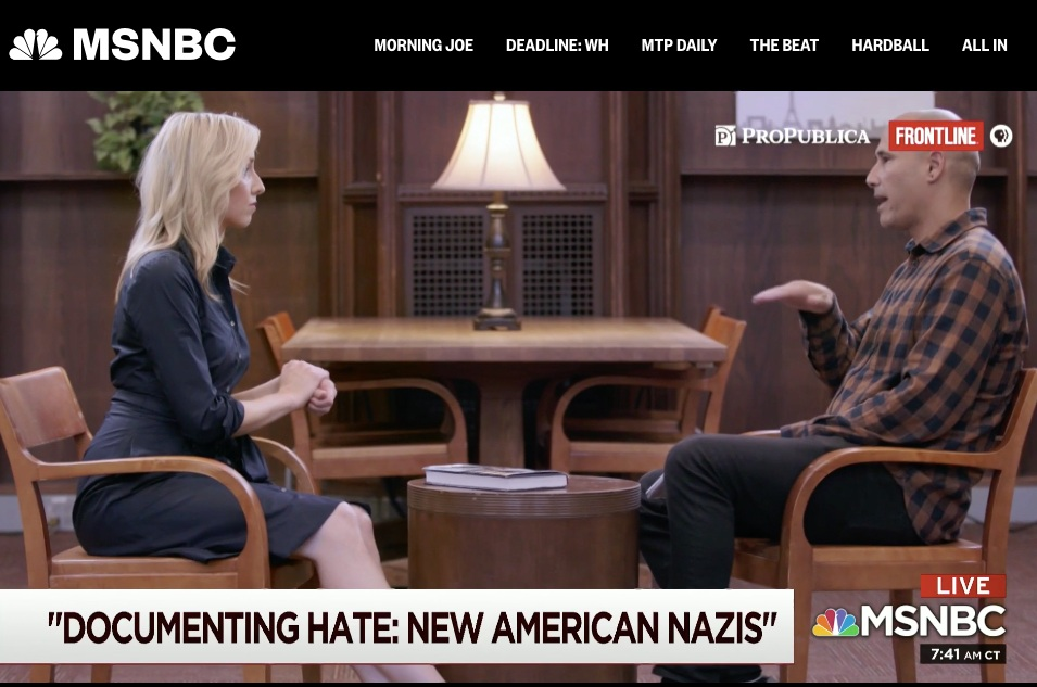 "Morning Joe - Frontline Examines ""New American Nazis,"" November 19, 2018"
