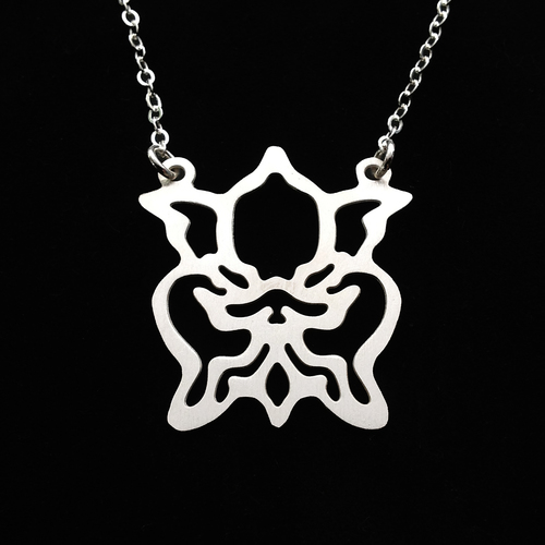 Orchid flower necklace gogo jewelry orchid flower necklace aloadofball Choice Image