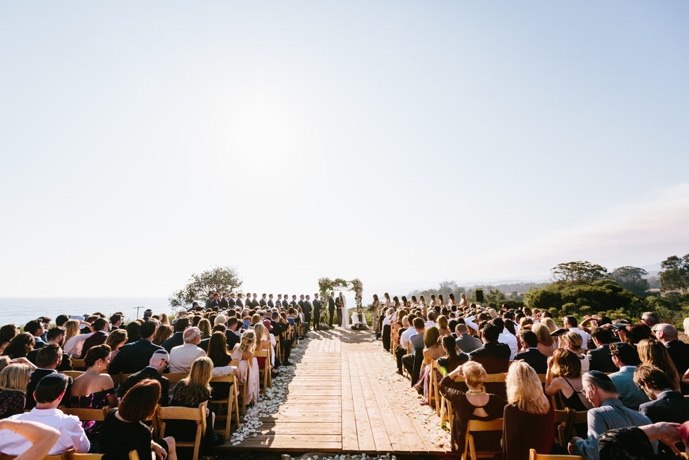 ceremony Santa Barbara Destination Wedding Planner Designer Orchard Farm