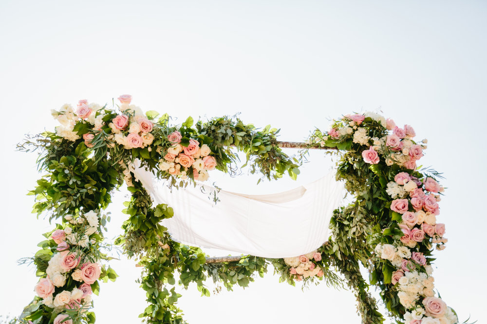 chuppah Santa Barbara Destination Wedding Planner Designer Orchard Farm