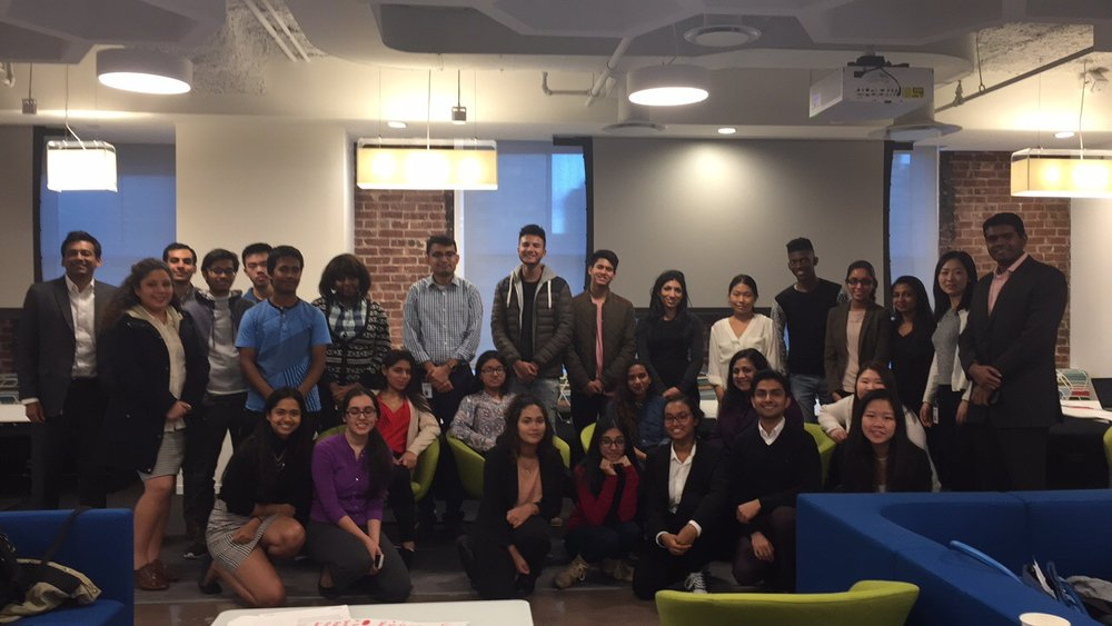saya youth learn about consulting and resume writing at deloitte saya