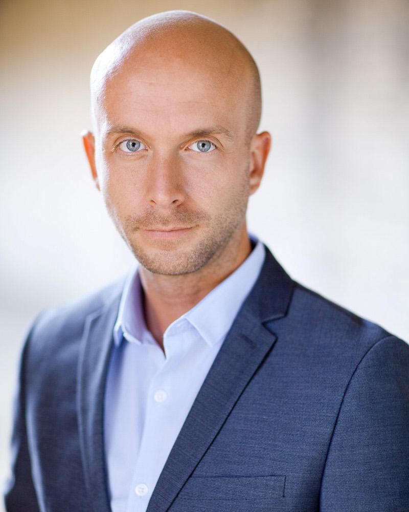 Corporate Headshot of Benjamin Cadou