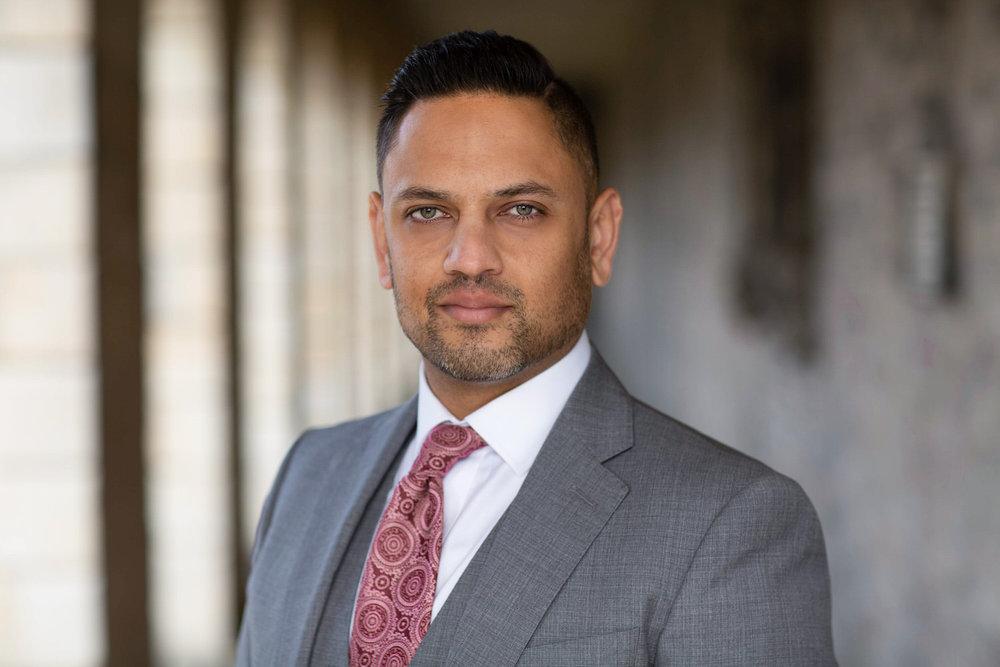 Corporate Headshot of Mr Pratik Patel