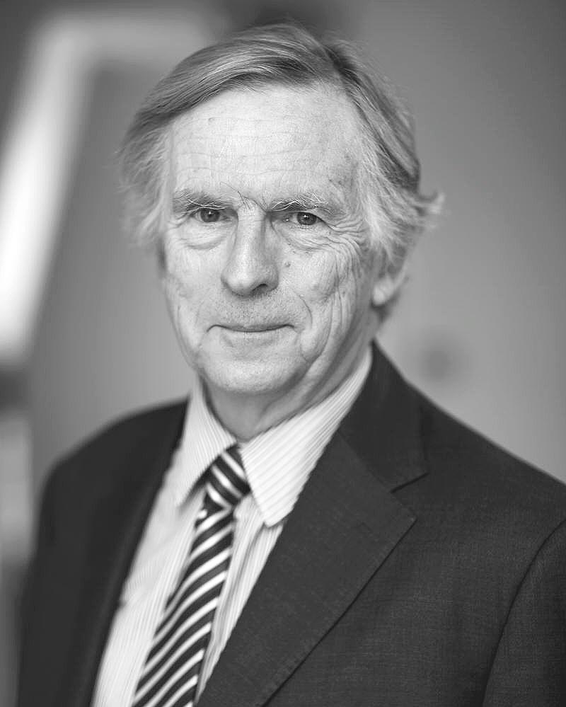 Corporate Headshot of Sir David Calvert-Smith