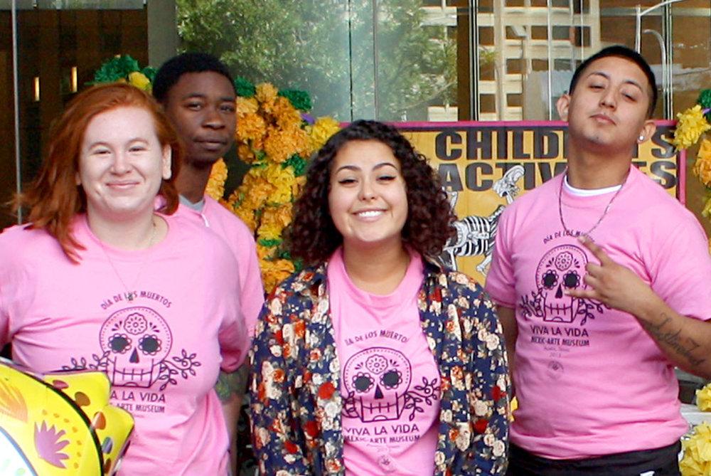 Volunteers at Viva la Vida 2015.