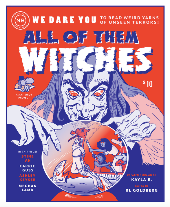 "Image Credit: All of them Witches, 2015, Risograph-printed comic, 8.5"" x 7"""