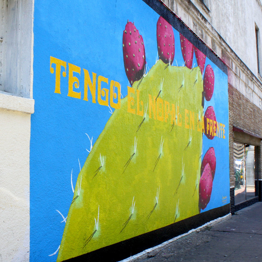 Tengo un Nopal en la Frente Joe De la Cruz June – September, 2016 Mexic-Arte Museum, 419 Congress Avenue