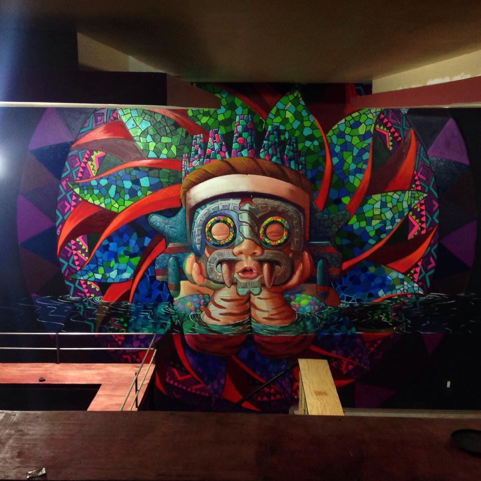 Cix Mugre. Renacimiento de Tlaloc, 2017