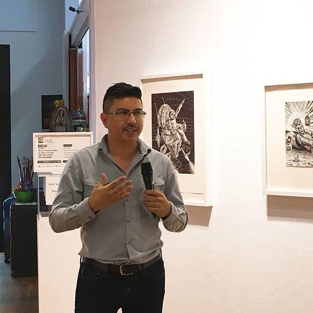 We enjoyed Members Brunch and YLA Curator's Tour and Artists Talk today. Check the video here!  https://www.facebook.com/mexicarte/videos/10156336302194654/ ... @amaciasstudio Juan de Dios Mora, @dadawestern @adelgadoart @andrewordonez @abeeeeel Evelyn Contreras, @werkin_artistraulgonzalez @anacondasss @holy_press @e_x_i_s_t_o ... #mexicarte #yla23 #atxmuseums
