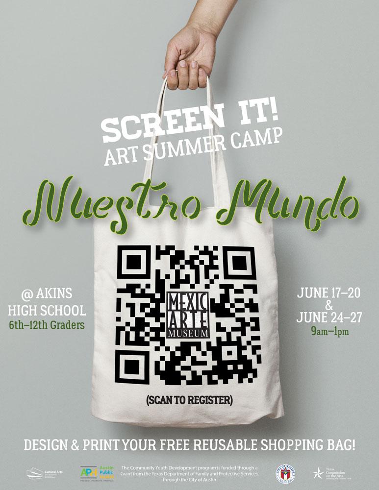 Summer Camp Nuestro Mundo at Akins High School June 24-27