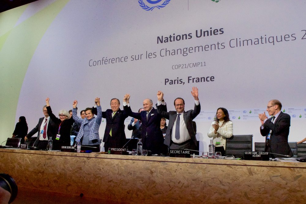 Photo: Paris Climate Agreement, Wikimedia Commons