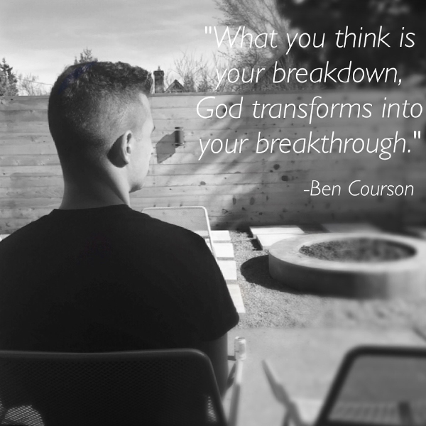 Breakdown 👉🏻 Breakthrough #bencourson