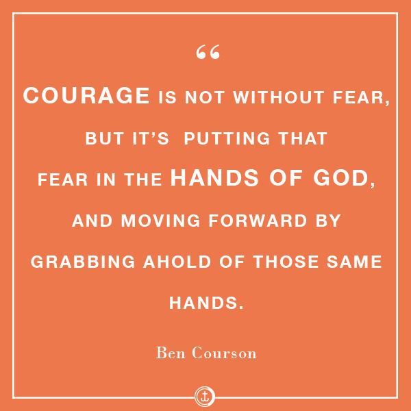 Courage #bencourson
