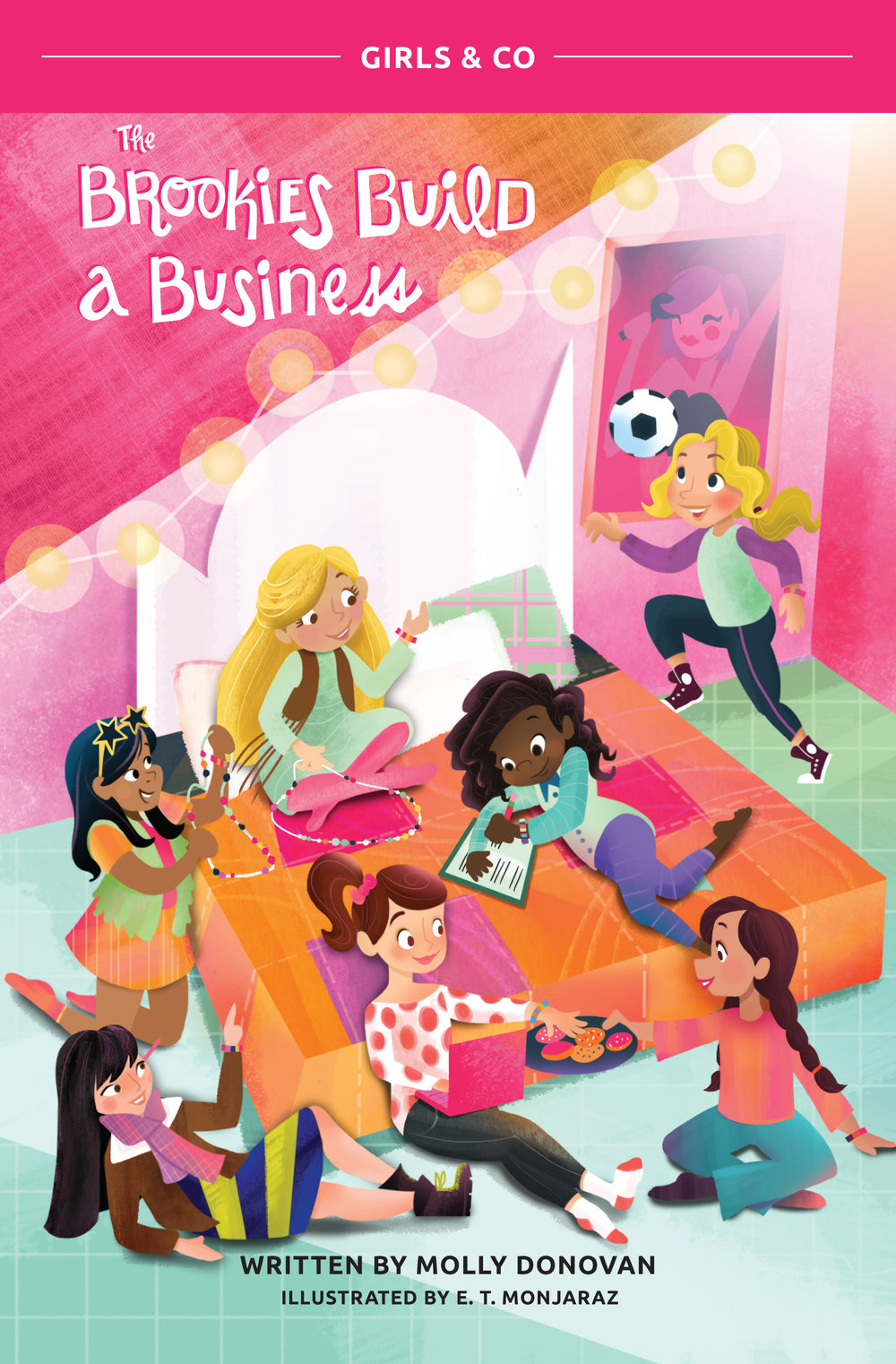 Book 1: Cara's Story - Cara Morales-Burch and her six best friends are smart, driven, and caring fifth-graders. When a fun sleepover activity turns into an idea for a business, they dive right in! This is the story of how the girls of Willowbrook Elementary worked together to build a socially conscious business with an important mission.