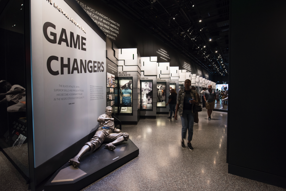 GAME CHANGERS.   Game changers are the people, events, and institutions that have forced the sports world and larger society to alter its practices, belief systems, or racial politics.    Photo credit:  Luka Kito