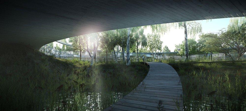 Rendering: Boogertman + Partners Architects