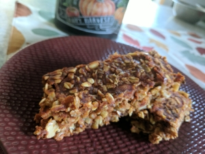 This is a recipe that is still in the works, I am trying to make pumpkin morning bars but no luck so far.  You can guarantee that my failed attempts have not gone to wastes