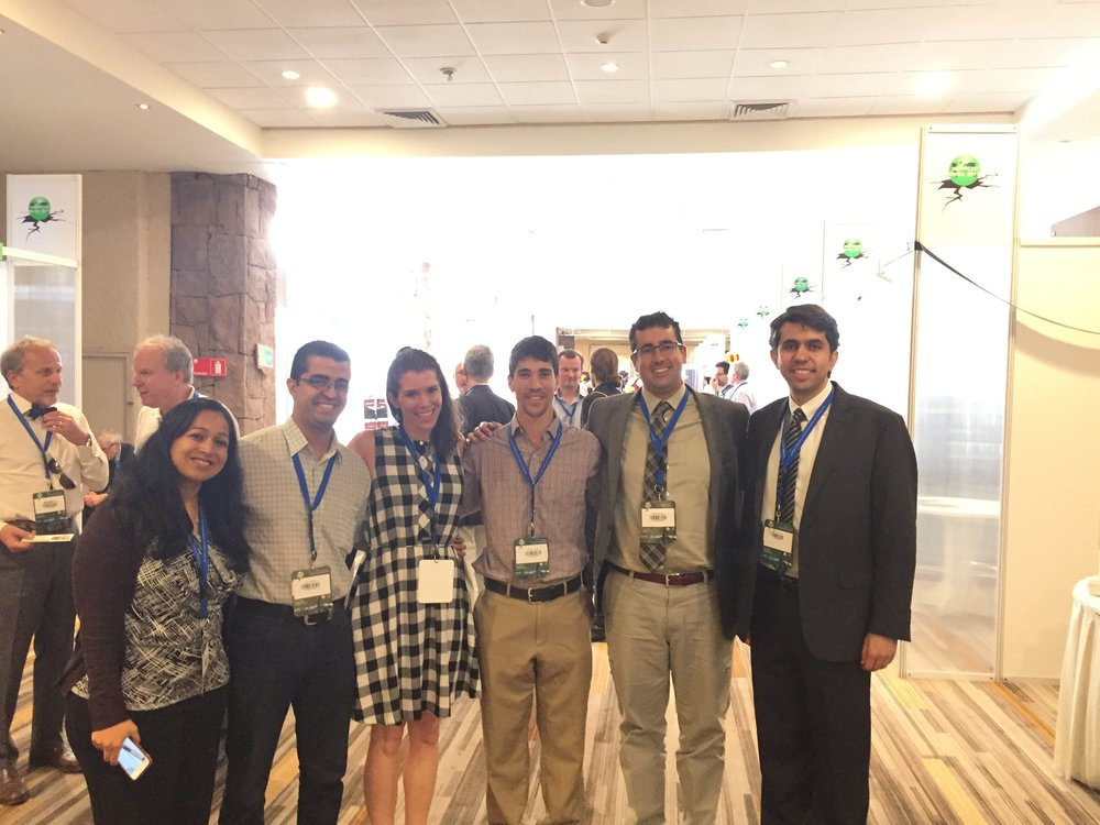 A group of wonderful people: Dr. Meera Raghunandan (Assistant Professor, IIT Bombay), Juan Olarte, Sarah Welsh-Huggins, Robert Chase, Travis Marcilla, Dr. Siamak Sattar (Research Structural Engineer, NIST)