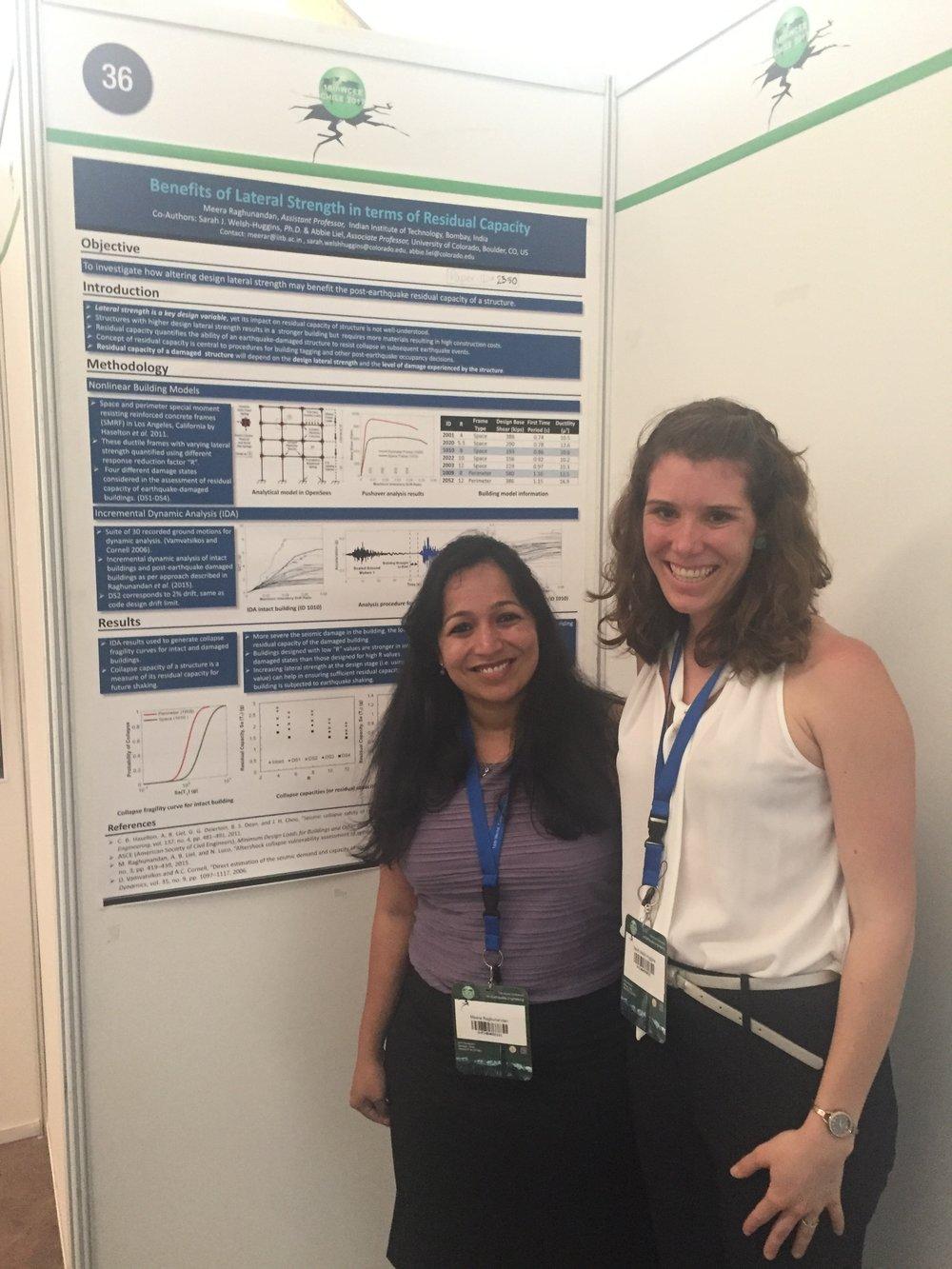 Meera Raghunandan and Sarah Welsh-Huggins