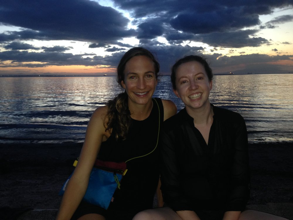 Shaye Palagi (working with Amy Javernick-Will) and Casie Venable (working with Abbie Liel and Amy Javernick-Will) on a recent visit to the Philippines.