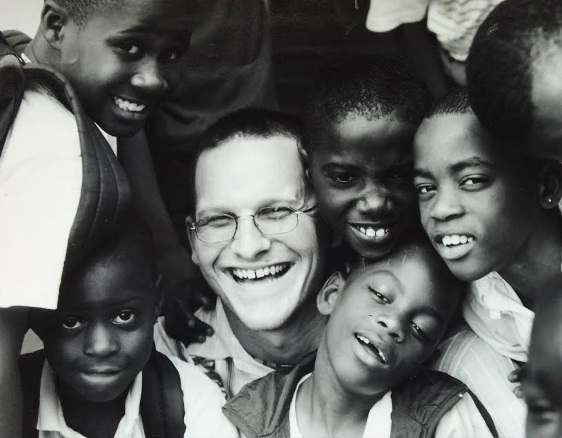 Marcus with Parker Street Youth, 1998