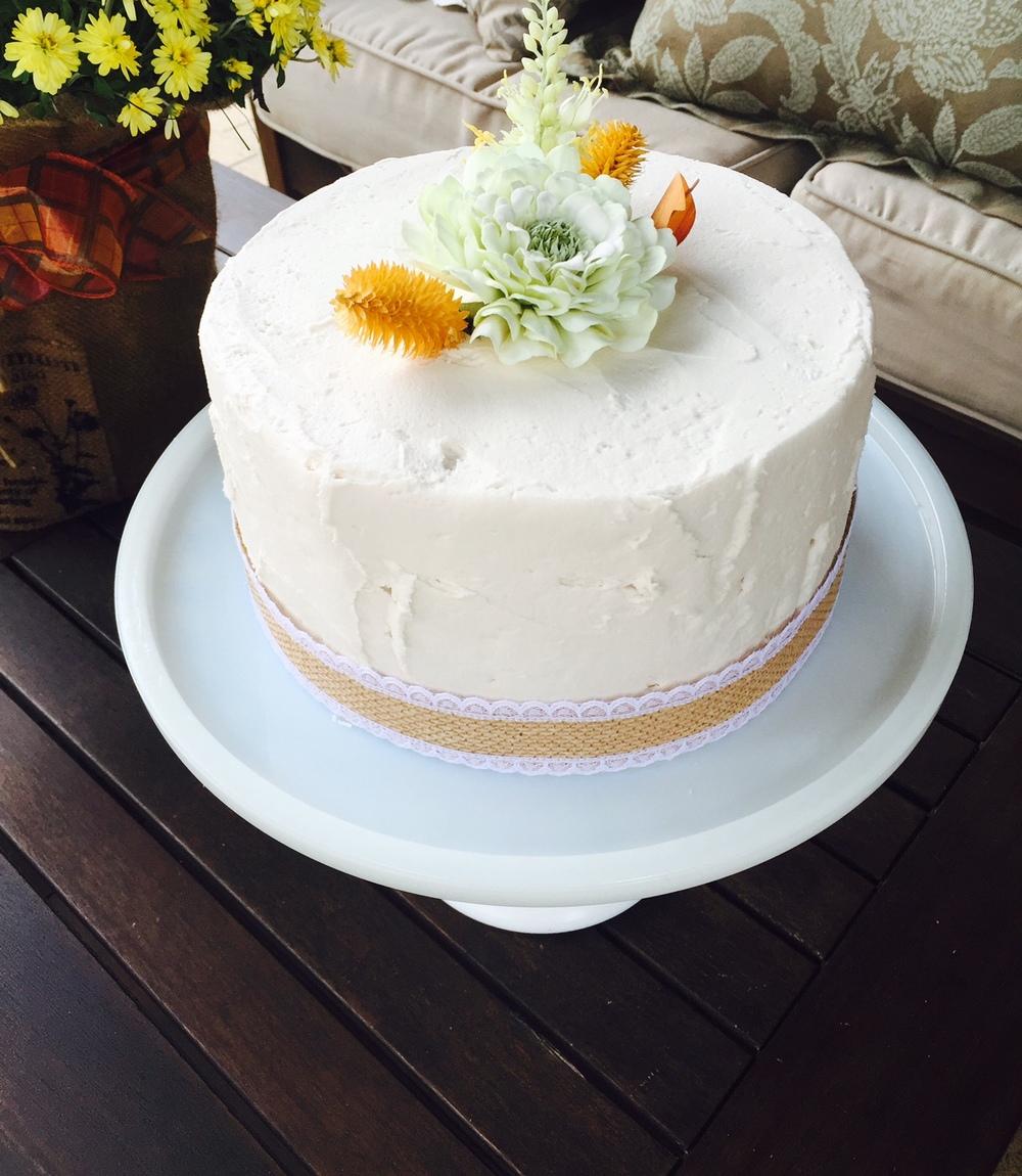Harvest Dessert in Ivory