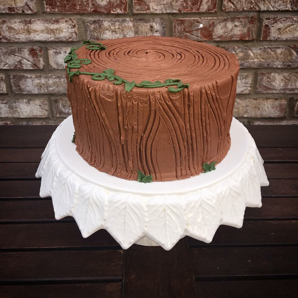 Woodsy In Chocolate Buttercream