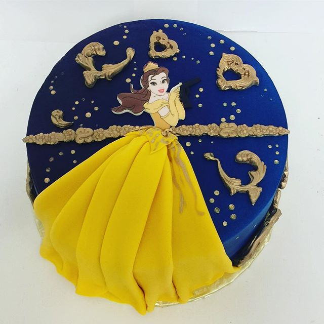 Have you seen the movie?  #beautyandthebeast #beautyandthebeastcake #cakesatlanta #cakesmarietta #confectionperfectioncakes