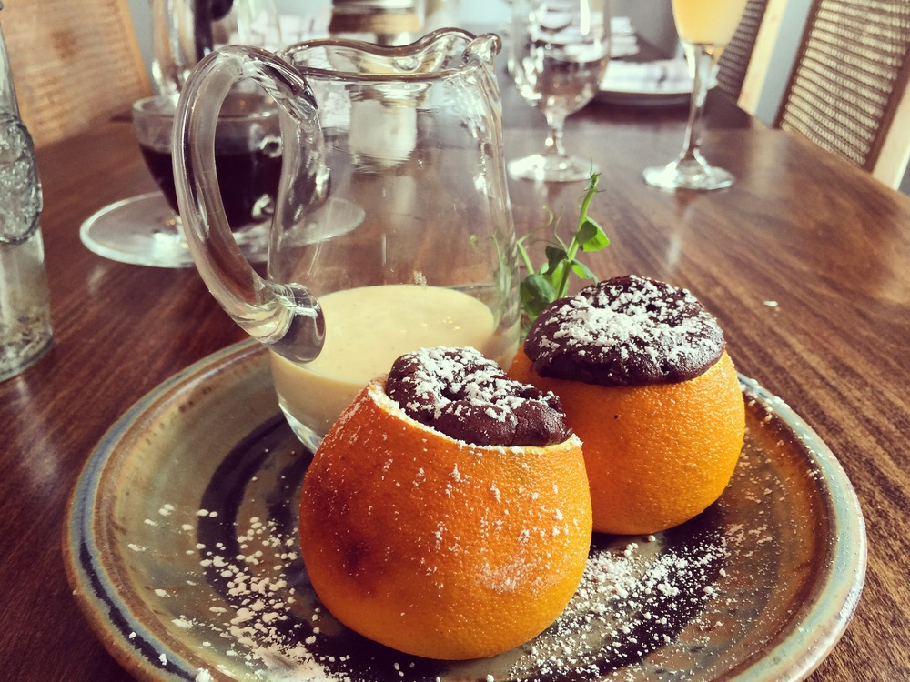 Orange-Chocolate Souffle