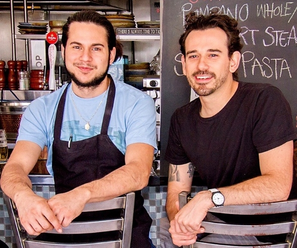 Chef John (on the left) and Chef Rene (on the right)
