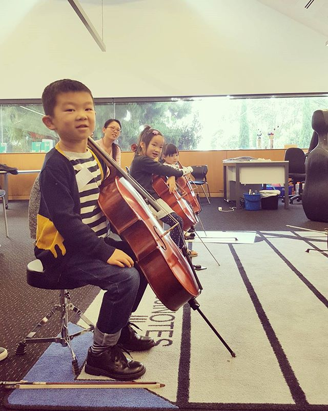 Love working with the little cellists !! 🤘☄🎻 #cellonz #suzukicelloacademy