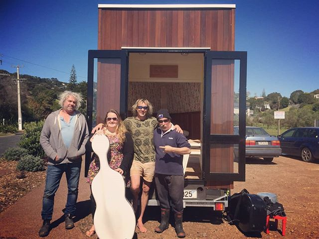 Throwback to TLCB launch day !! So many wonderful memories of the Cello Box construction .. 😊 We did it Dad !! ❤👊 still sending it hard in 2018 👍💃 #prouddad #achievement #thelittlecellobox #music #determination #love