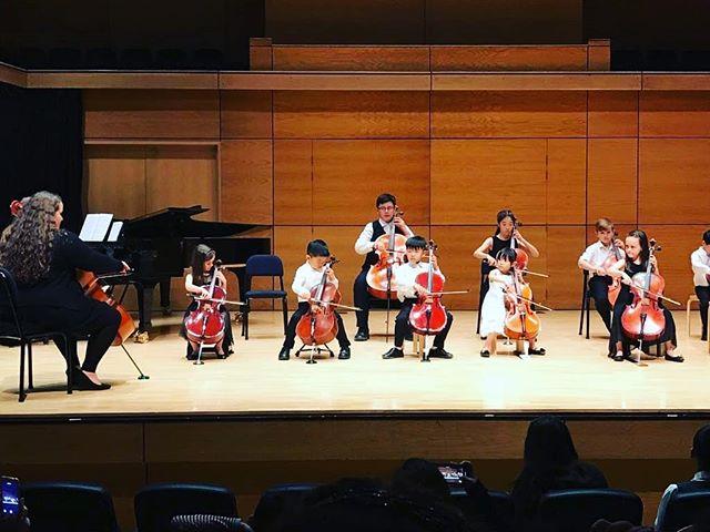 Cellos take the stage #hamiltonannualconcert #suzukinz #cello #rocknroll 🤙
