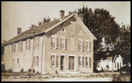 The Mason House Inn as it looked in the 1800's