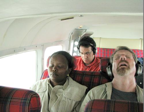 I fell asleep all over the world
