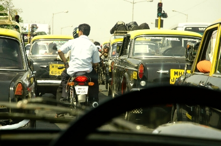 The Tata Taxis swarmed everywhere