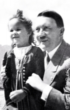 It is said that Hitler loved children