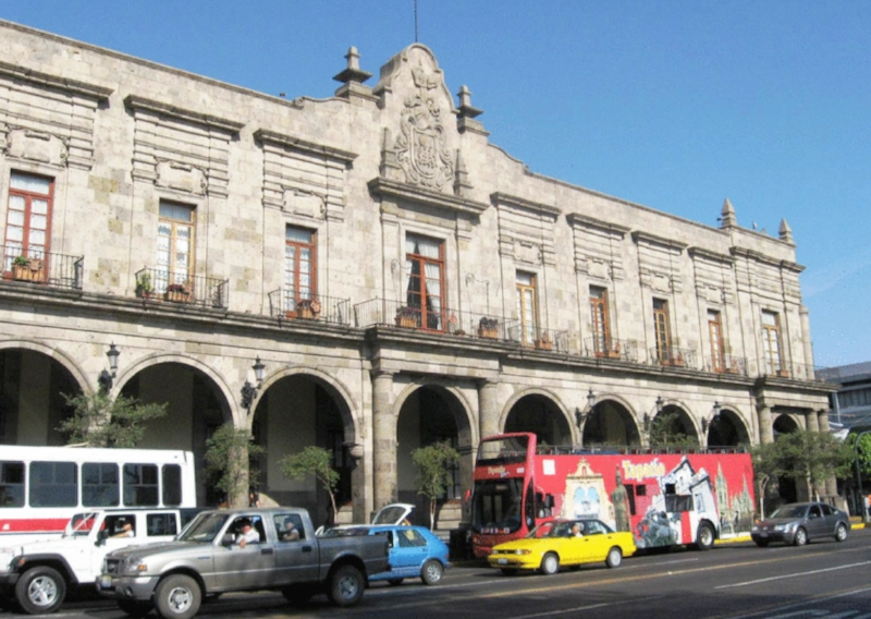 Mexico City   morning street.jpg