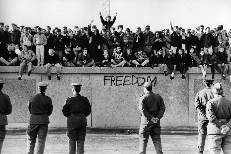 Berlin Wall  students on wall.jpg