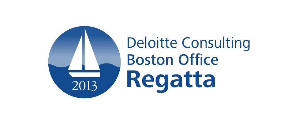 Logo for Deloitte Regatta