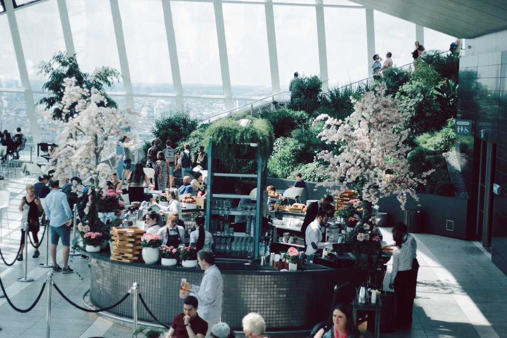 The Snack Bar at Sky Garden
