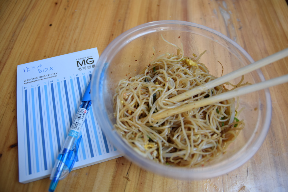 Idea Box + Noodle Box= The perfect combo.