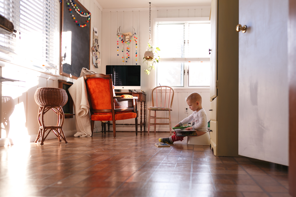 You know you are really into photography when you think potty training is pretty!